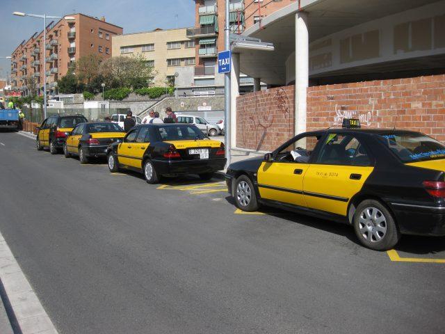 Noves parades de taxi