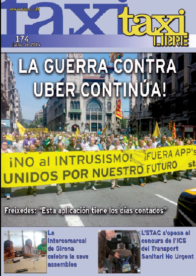 Revista taxi sindicato