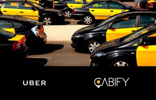 Los taxistas piden ayudas para hacer frente a Uber y Cabify