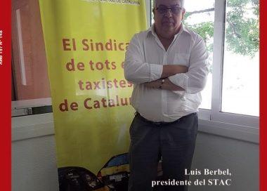 Entrevista a Luis Berbel, presidente del STAC, en La Voz del Taxi