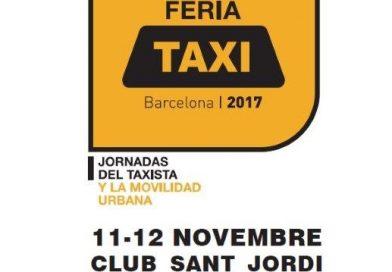 El 11-12 de Noviembre se celebra una nueva edición de la Feria del Taxi