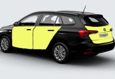 Autoritzat per a taxi el vehicle FIAT TIPO