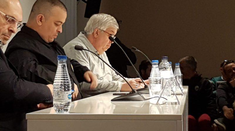 Rueda de prensa íntegra de Élite, STAC y PIT sobre el conflicto de las VTC
