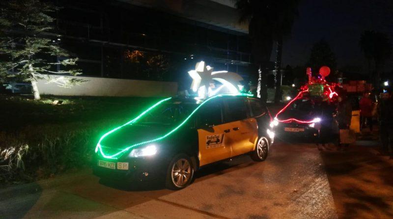 El taxi participa en el dia de los Reyes Magos tanto en el Vallès como en Mataró