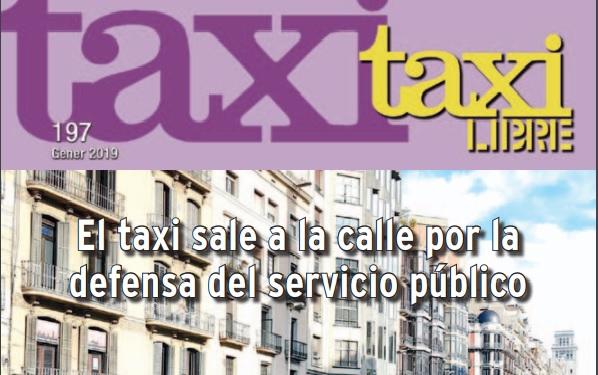 Ya te puedes descargar el último número de la Revista Taxi Libre. 197