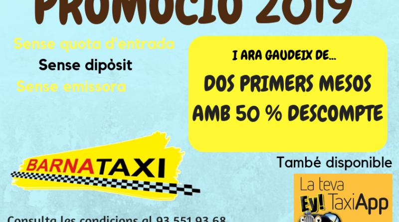 Promoción Barnataxi: ¡¡Apúntate y aprovecha la oferta!!