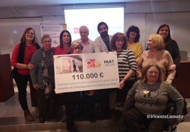54 mujeres taxistas entregan 110.000 euros para la investigación del cáncer infantil
