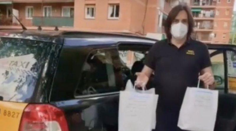 Taxistas del STAC reparten más de 17.000 EPI durante la pandemia