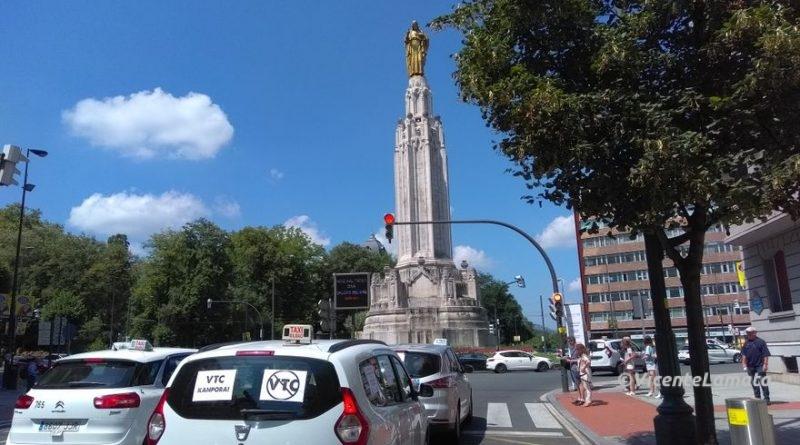 Competencia impugna el último decreto del Gobierno vasco sobre los VTC