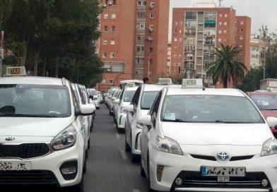 El sector del taxi de Valencia reclama ayudas para poder sobrevivir