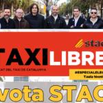 Ya te puedes descargar el número de la Revista TAXI LIBRE #EspecialEleccions Taula Tècnica 2021