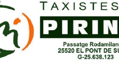 L'associació dels Taxistes del Pirineu eximeix de la quota els seus socis per la pandèmia