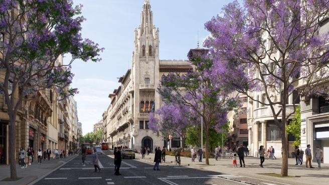 Barcelona retoca el proyecto de reforma de la Via Laietana